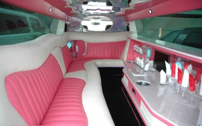 PINK HUMMER H3 - Up to 8 pass